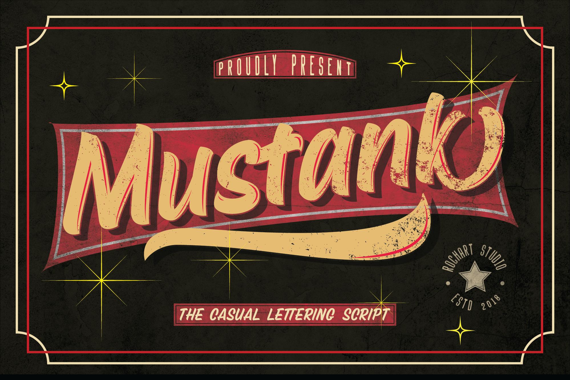 Mustank Casual Script example image 13
