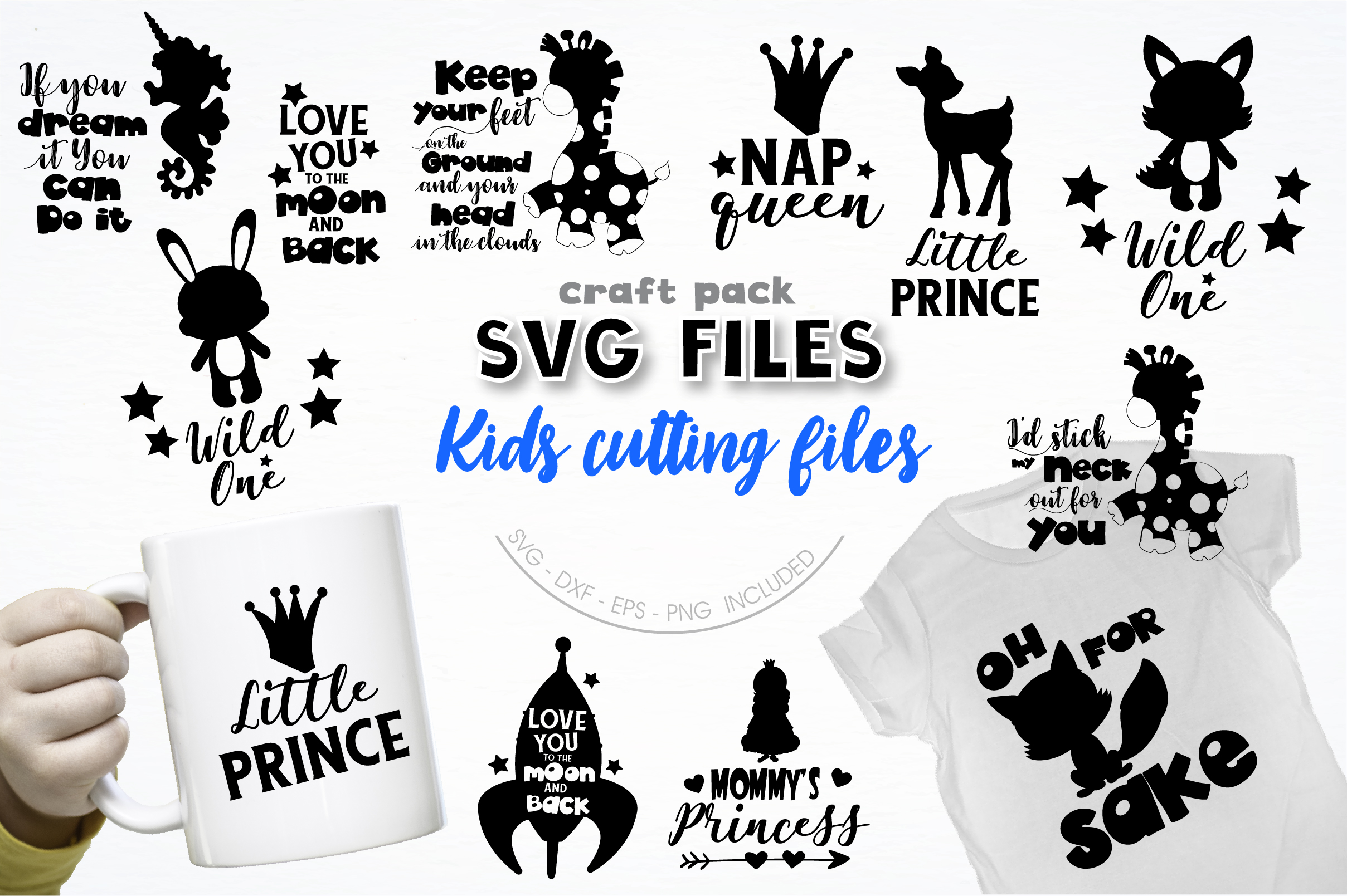 AMAZING SVG AND GRAPHIC BUNDLE- 550 in 1 example image 14