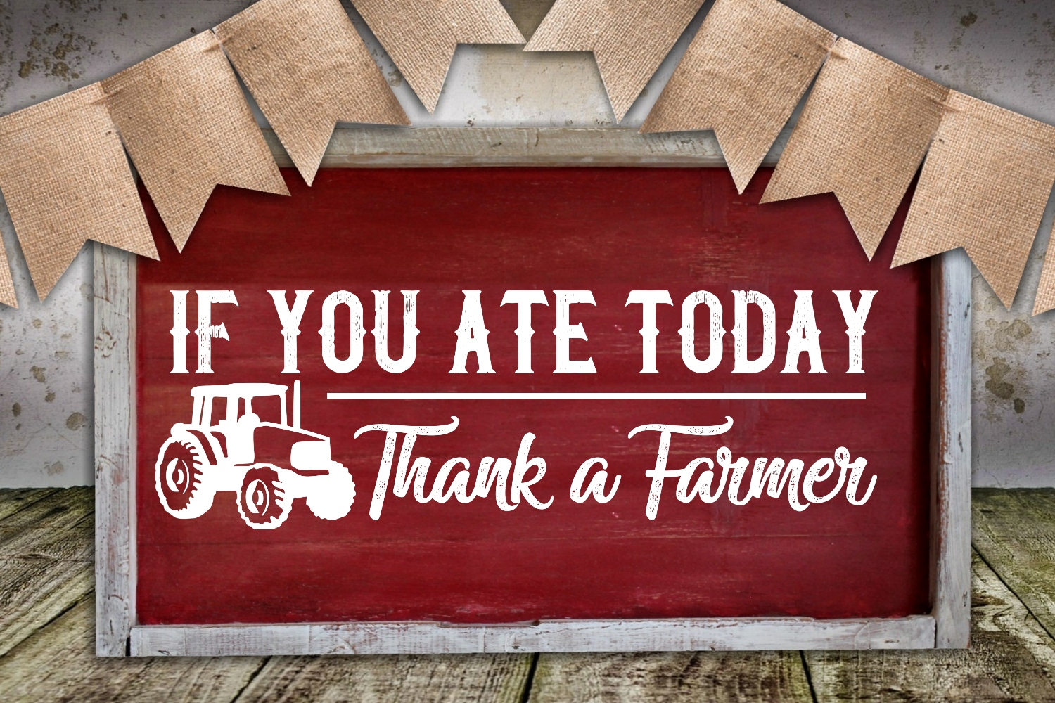 Thank A Farmer SVG example image 1