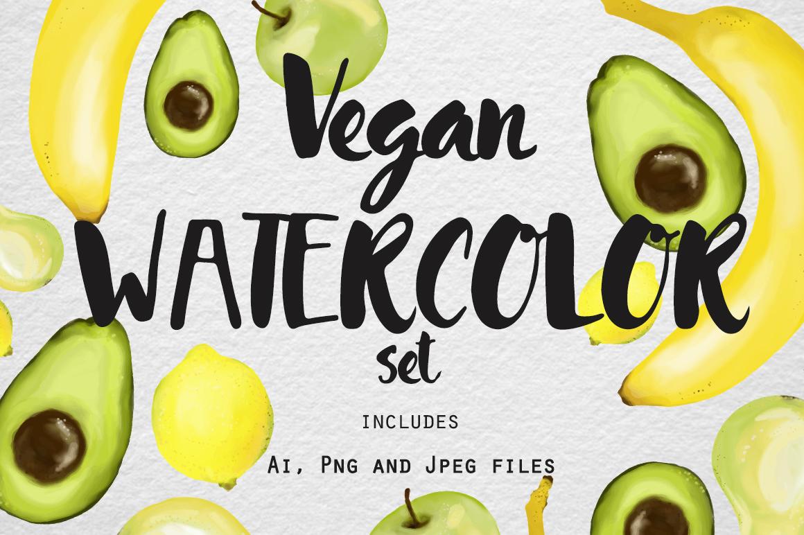 Vegan Watercolor example image 1