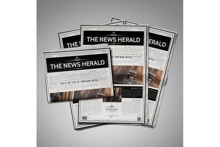 A3 Newspaper Template example image 6