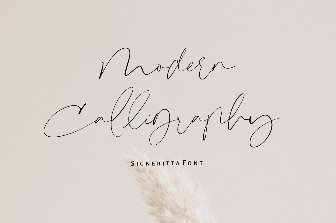 Signeritta - Elegant Signature example image 2