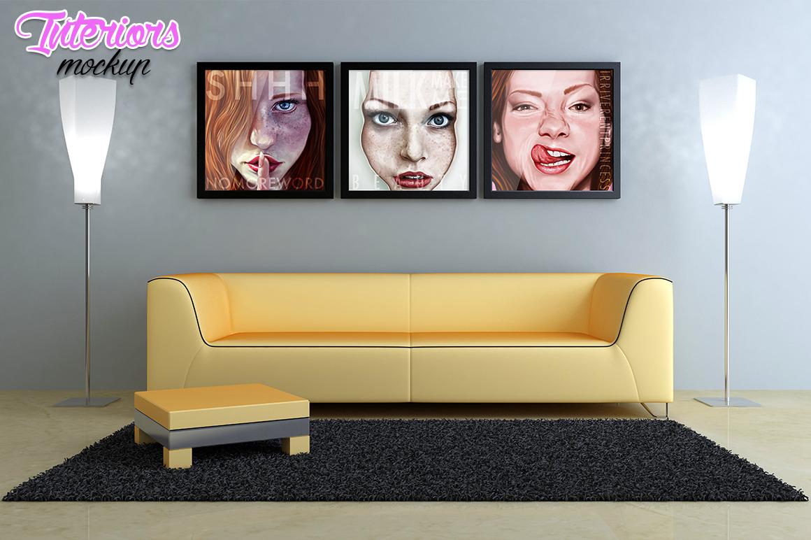 Interiors mockup example image 8