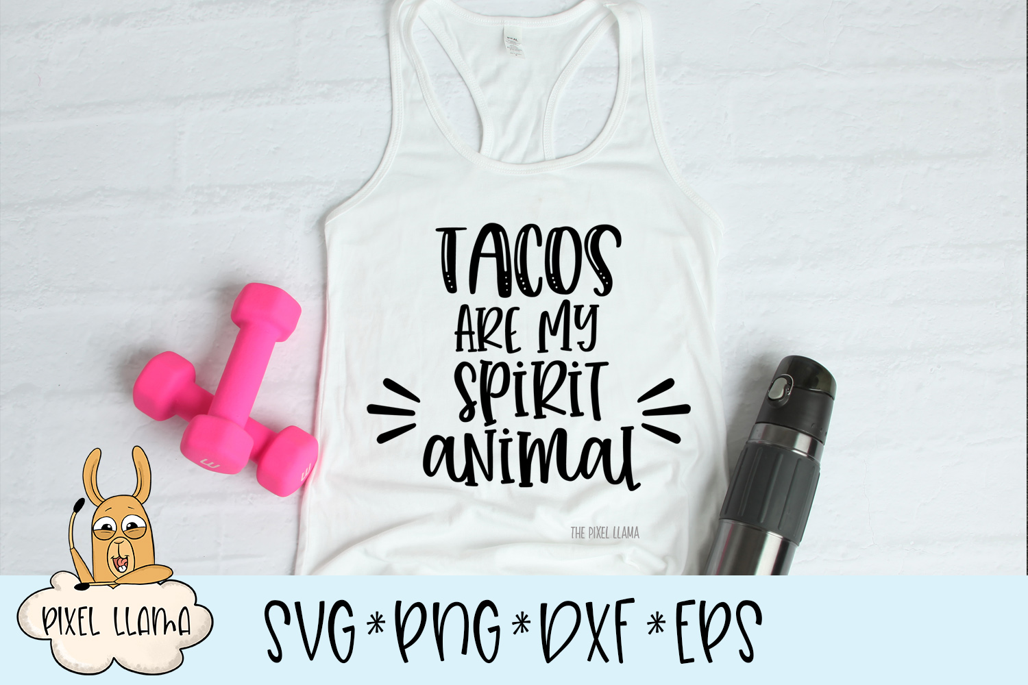 Tacos Are My Spirit Animal SVG example image 2