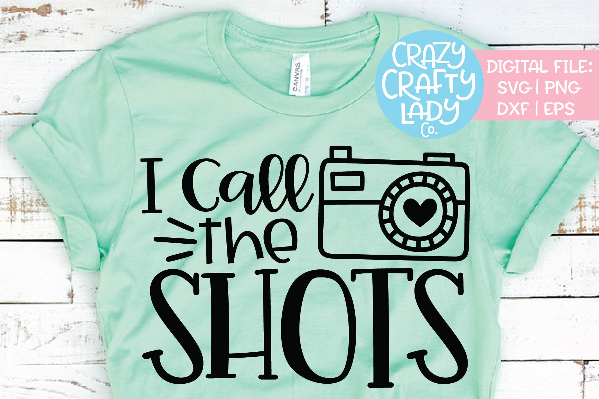 I Call the Shots Photography SVG DXF EPS PNG Cut File example image 1