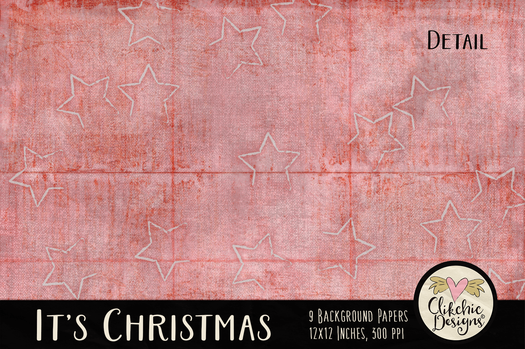 Christmas Backgrounds - Christmas Digital Papers Textures example image 4