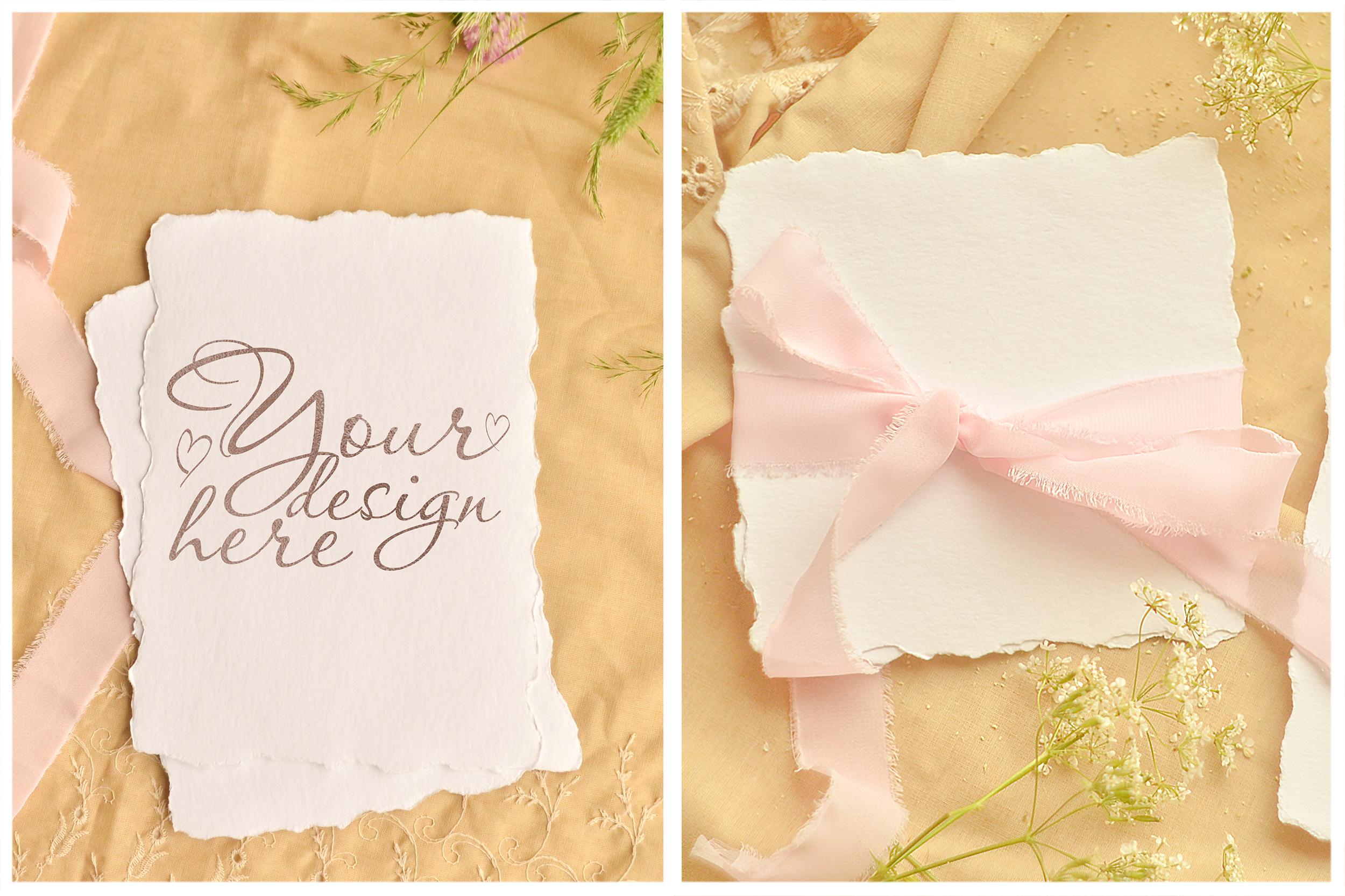 Honey Meadow. Wedding mockups & stock photo bundle example image 6