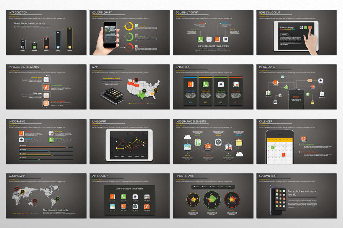 Application Presentation Template example image 2