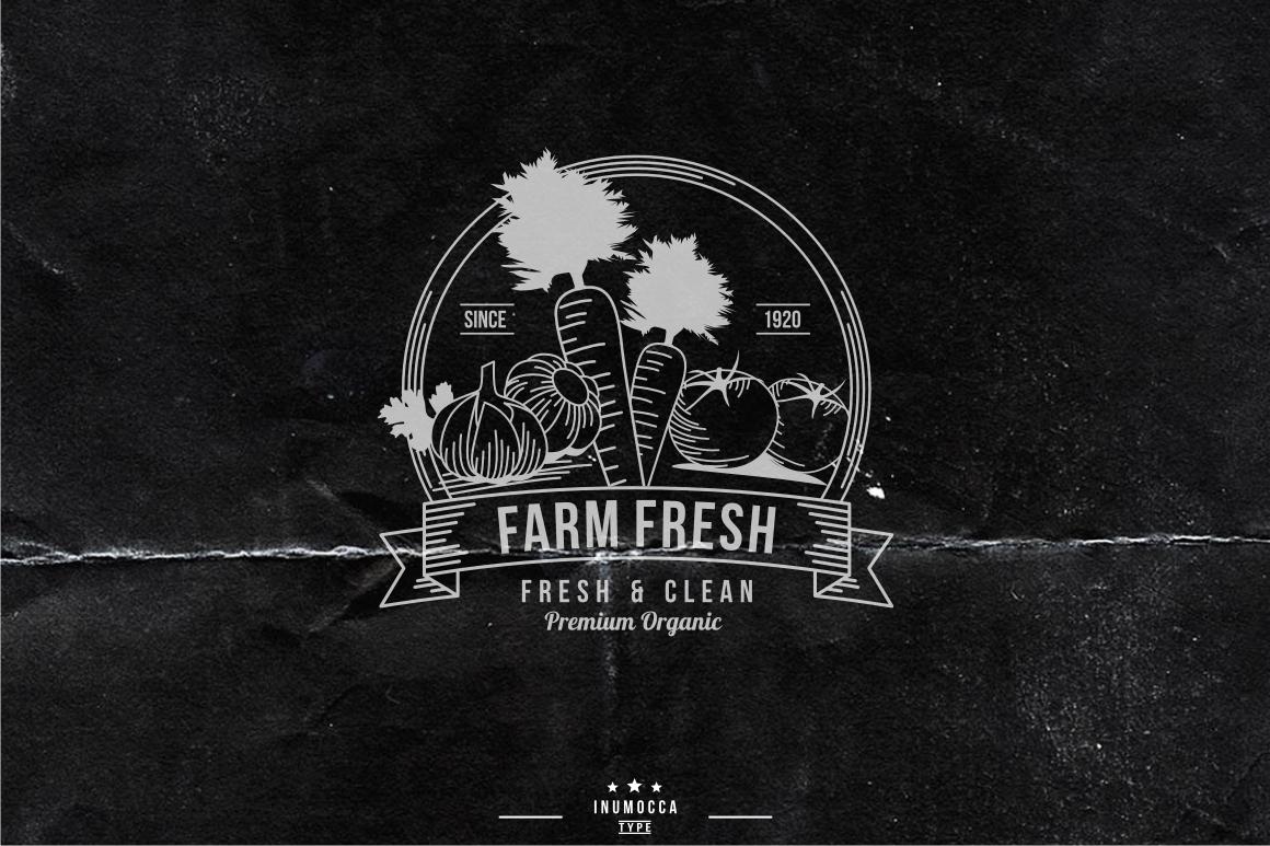 10 Farm Vintage (editable text) example image 3