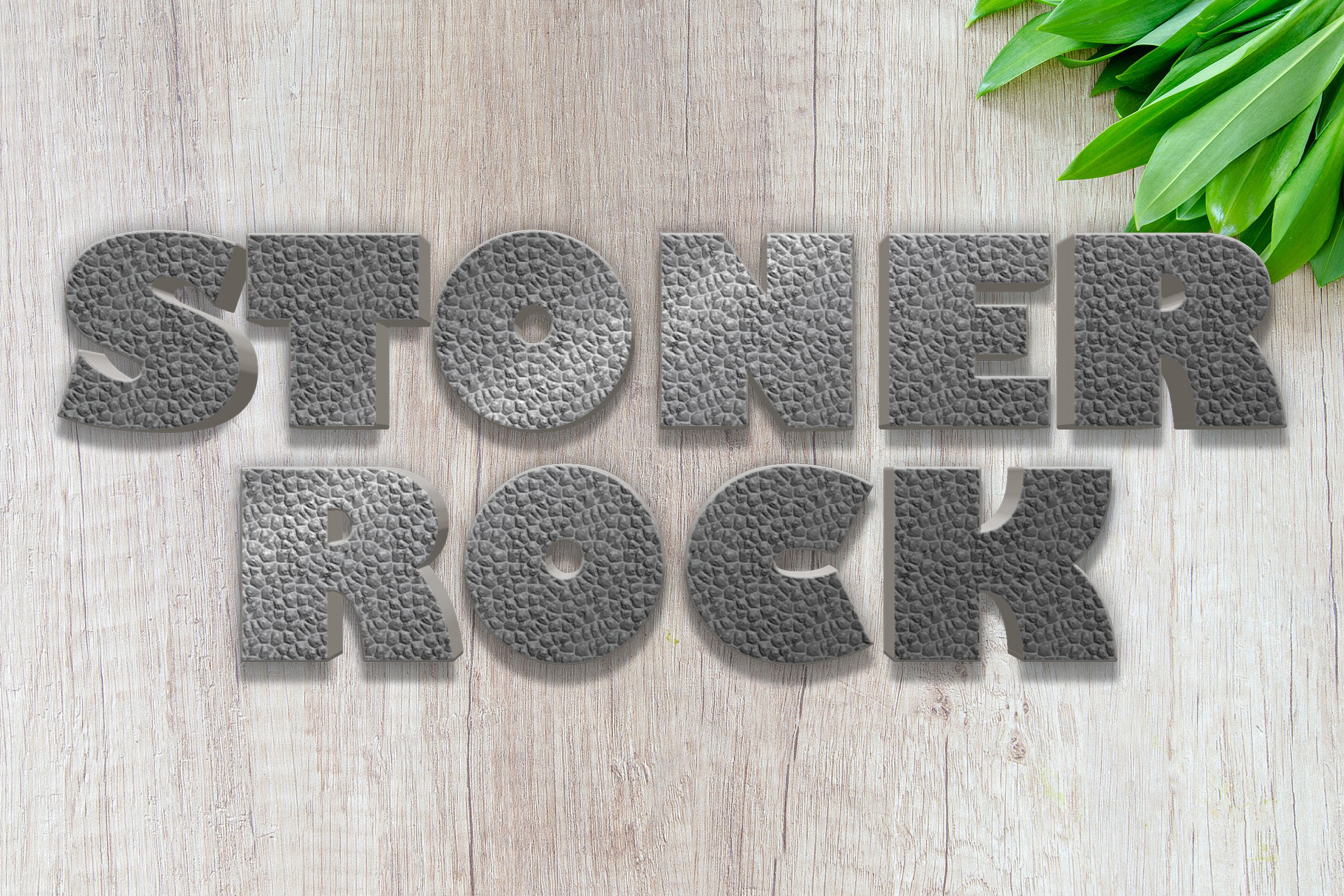 10 Stone / Rock Layer Style for Photoshop example image 4