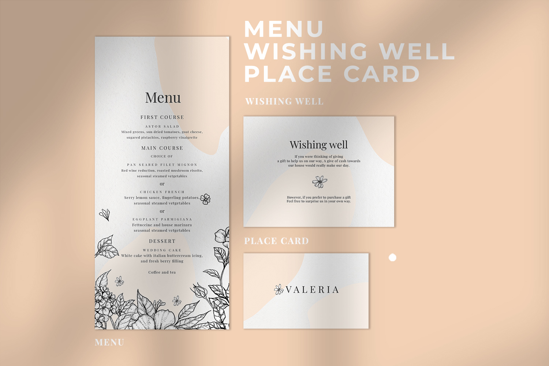 Classy Botanical Wedding Suite example image 3