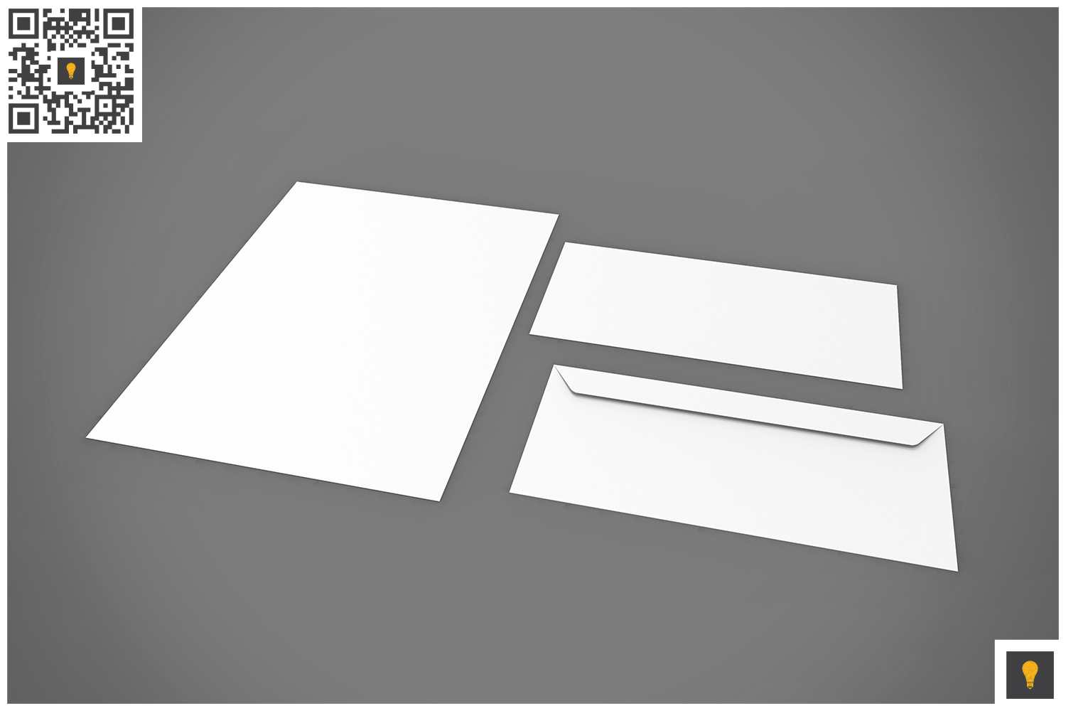 Branding Stationary 3D Render example image 15