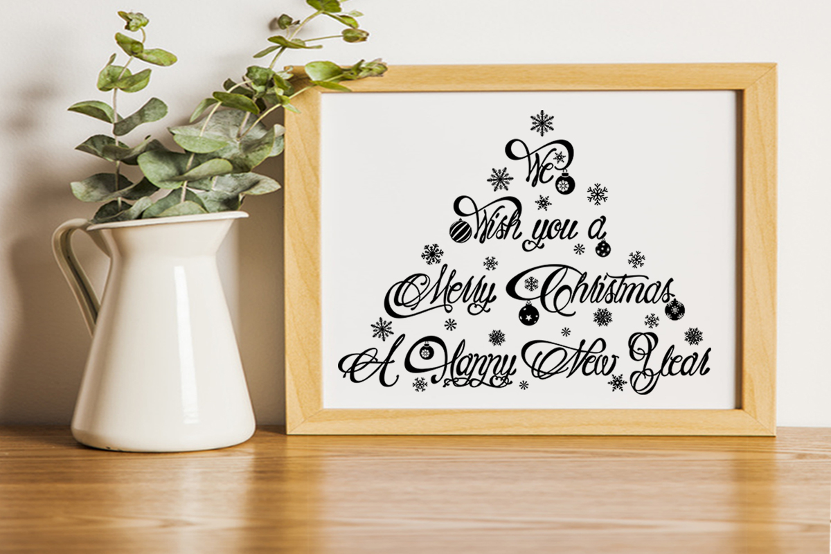 Christmas svg We wish You a Merry christmas svg Winter svg example image 4
