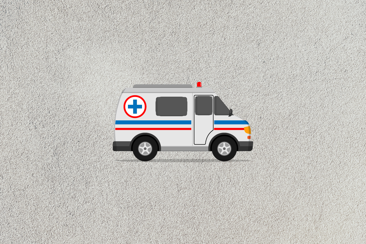 ambulance car icon example image 7
