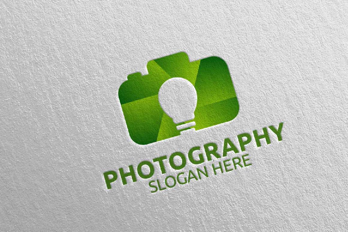 Abstract Camera Photography Logo 11 example image 3
