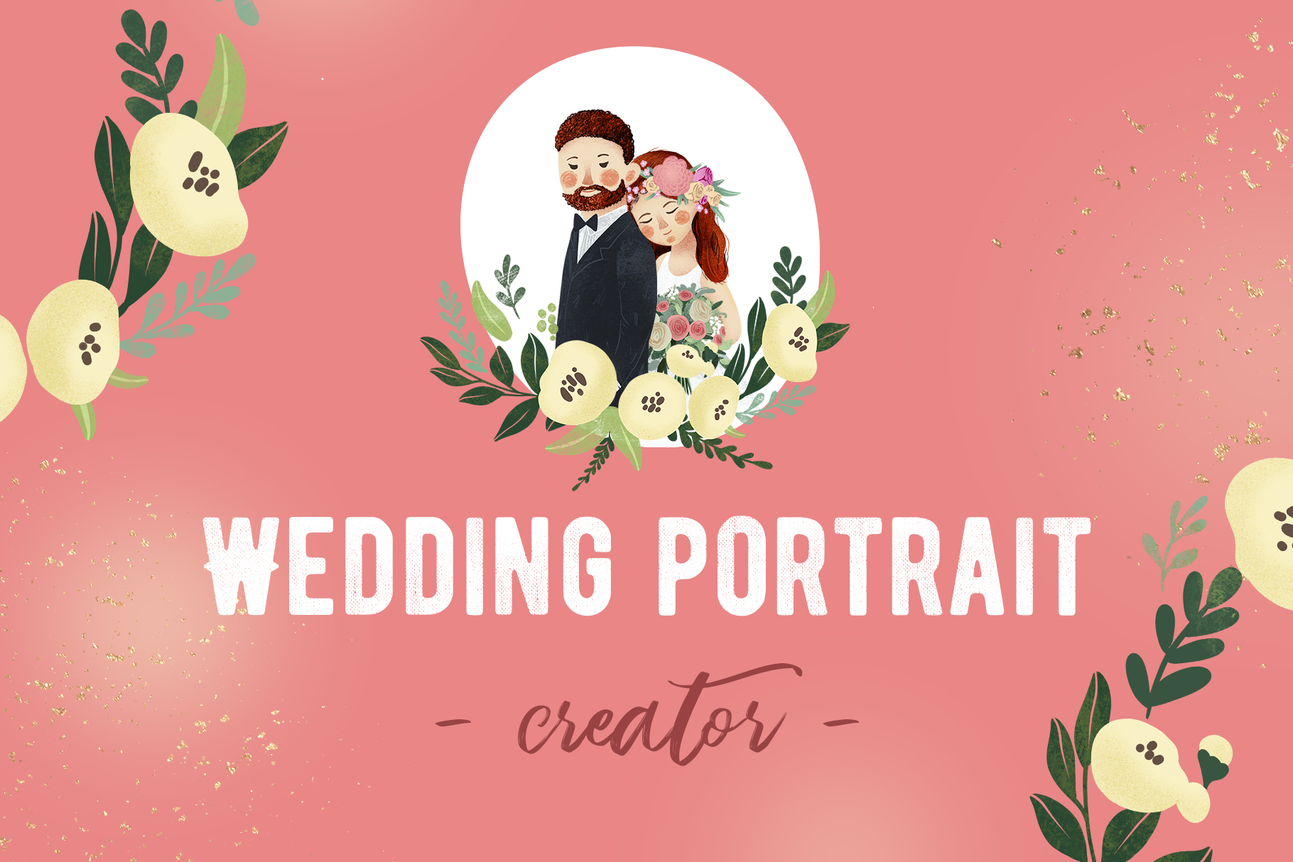 Personal Wedding Portrait Creator example image 1