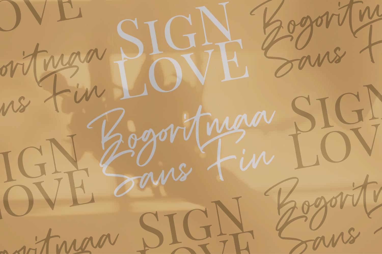 Bogoritmaa Signature example image 8