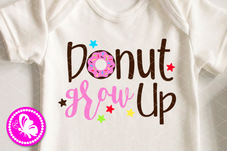 Donut grou up svg First Birthday girl shirt png Party Decor example image 1