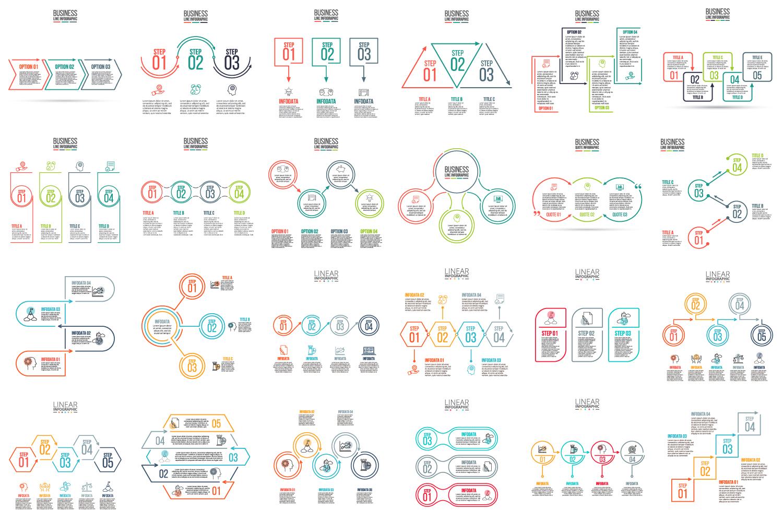 Minimal infographic PPT presentation example image 5
