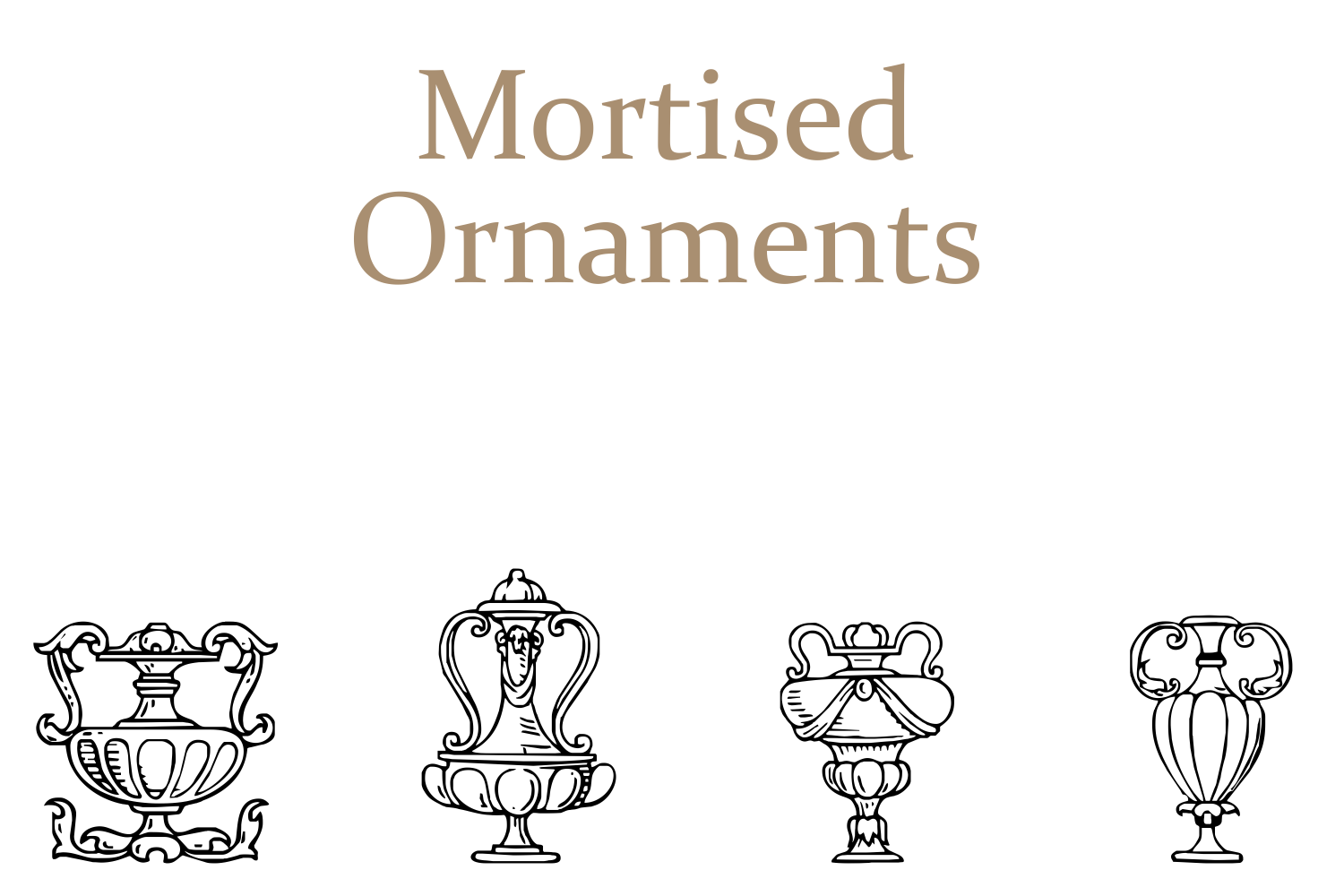 Mortised Ornaments example image 8