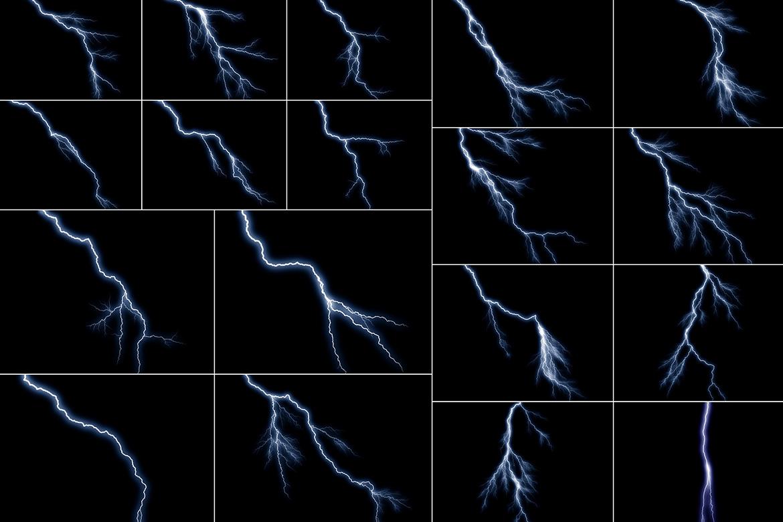 100 Lightning Overlays Vol. 3 example image 3