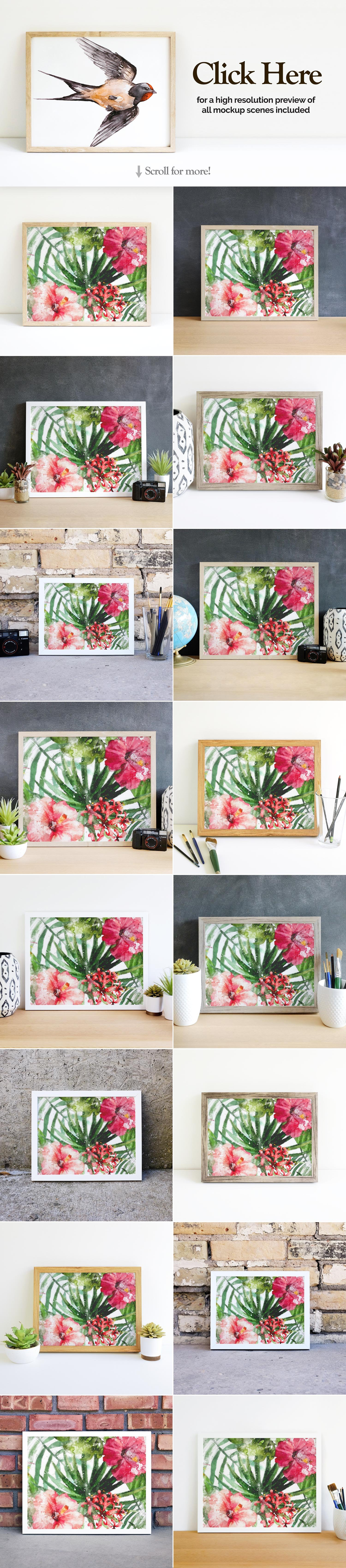 Print and Poster Mockups for Etsy and More! example image 3