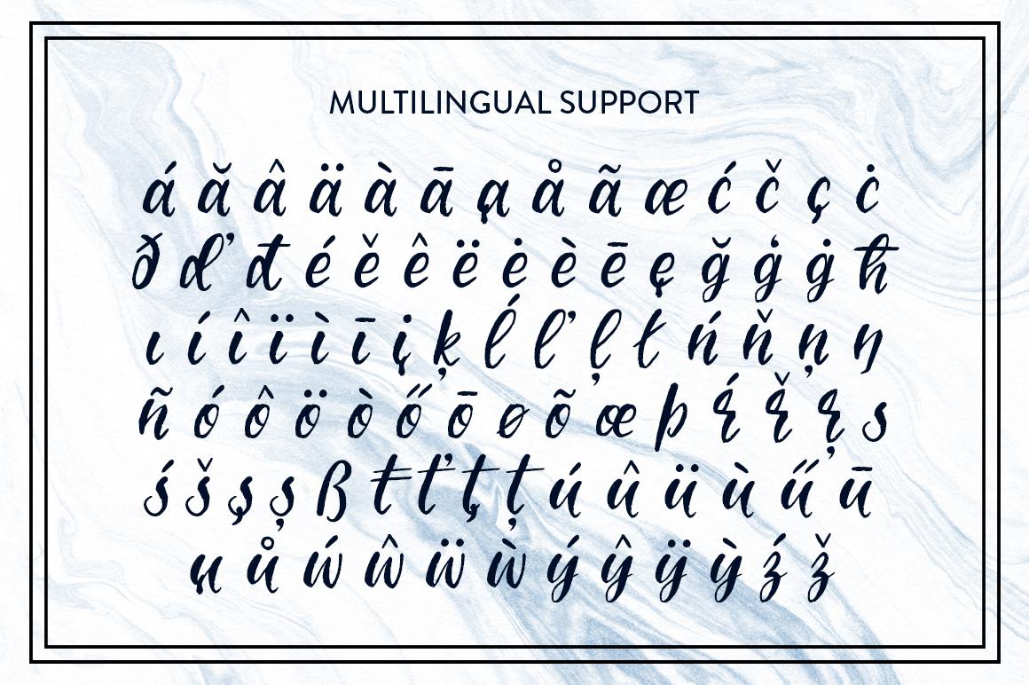 Molokini Brush Script example image 3