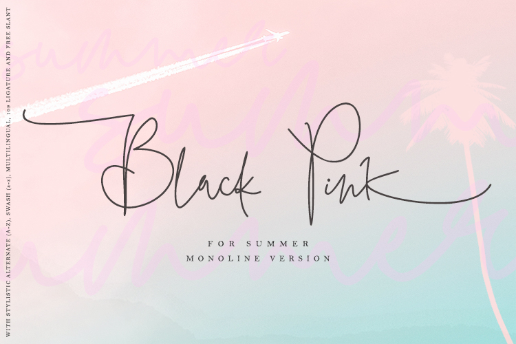 Black Pink SUmmer example image 1