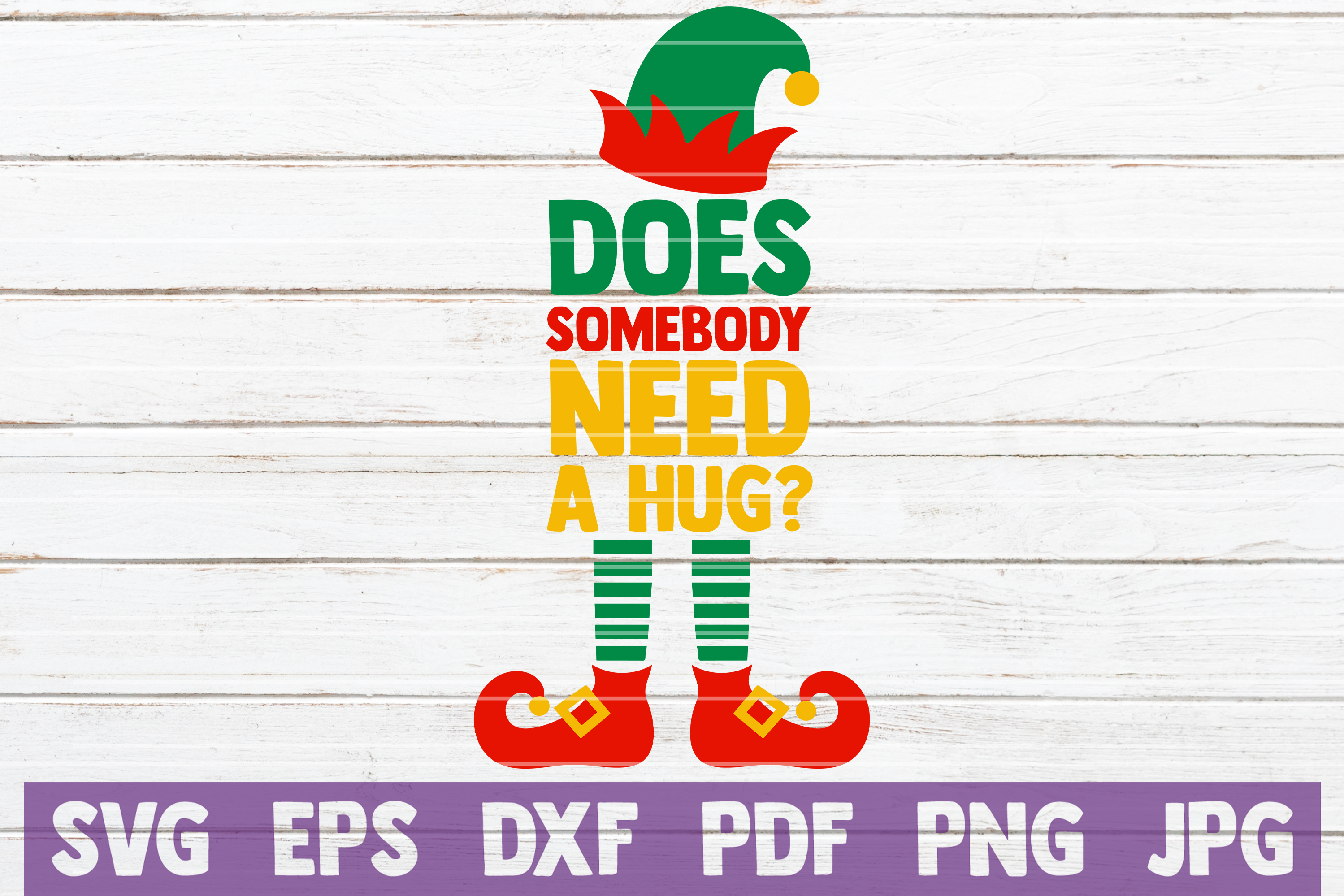 What The Elf? SVG Cut File example image 3