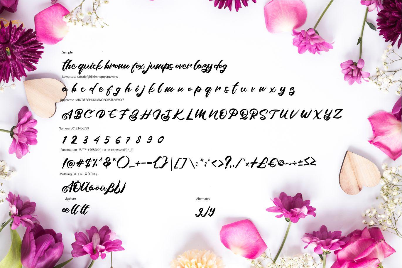 Azala | Style Script Font example image 6