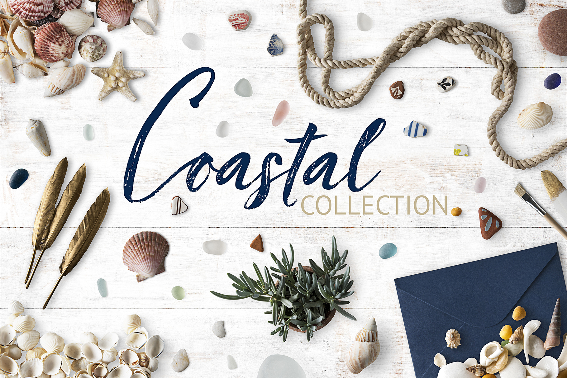 Coastal Dream Nautical Scene Creator - Isolated Elements example image 1
