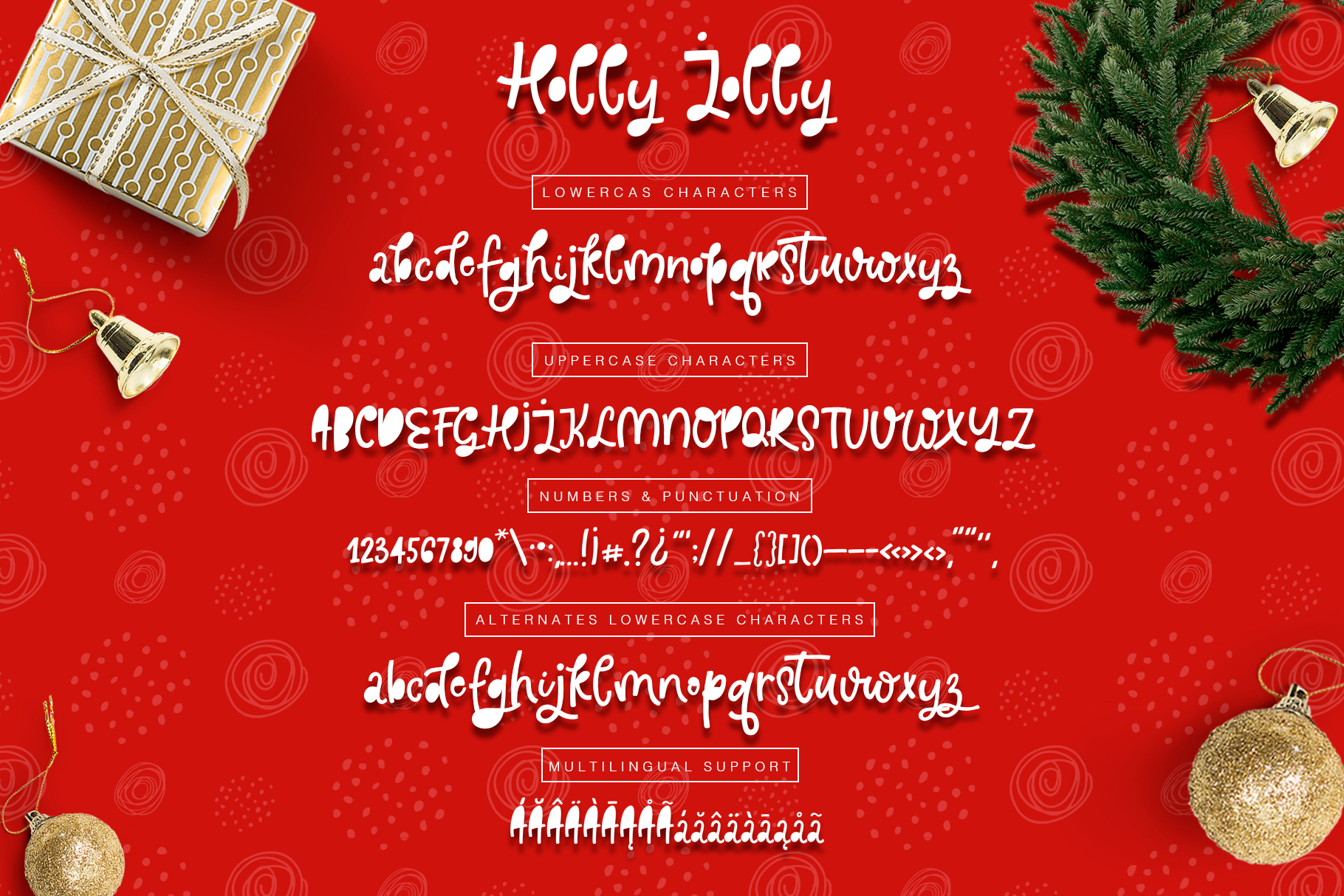 Holly Jolly Font example image 3
