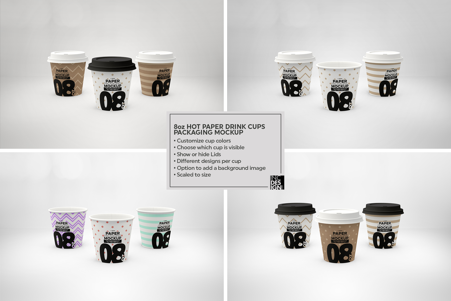 Paper Hot Drink Cups Packaging Mockup example image 18