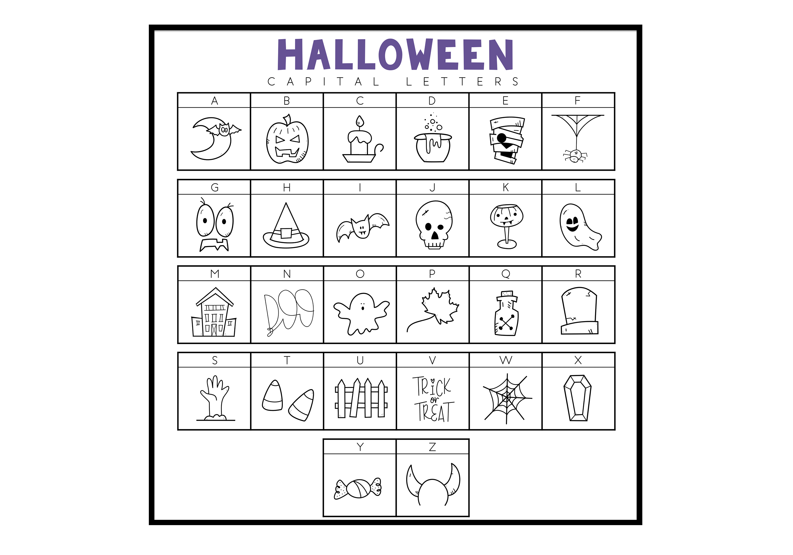 Creep It Real - A Spooky Halloween Doodles Font example image 4