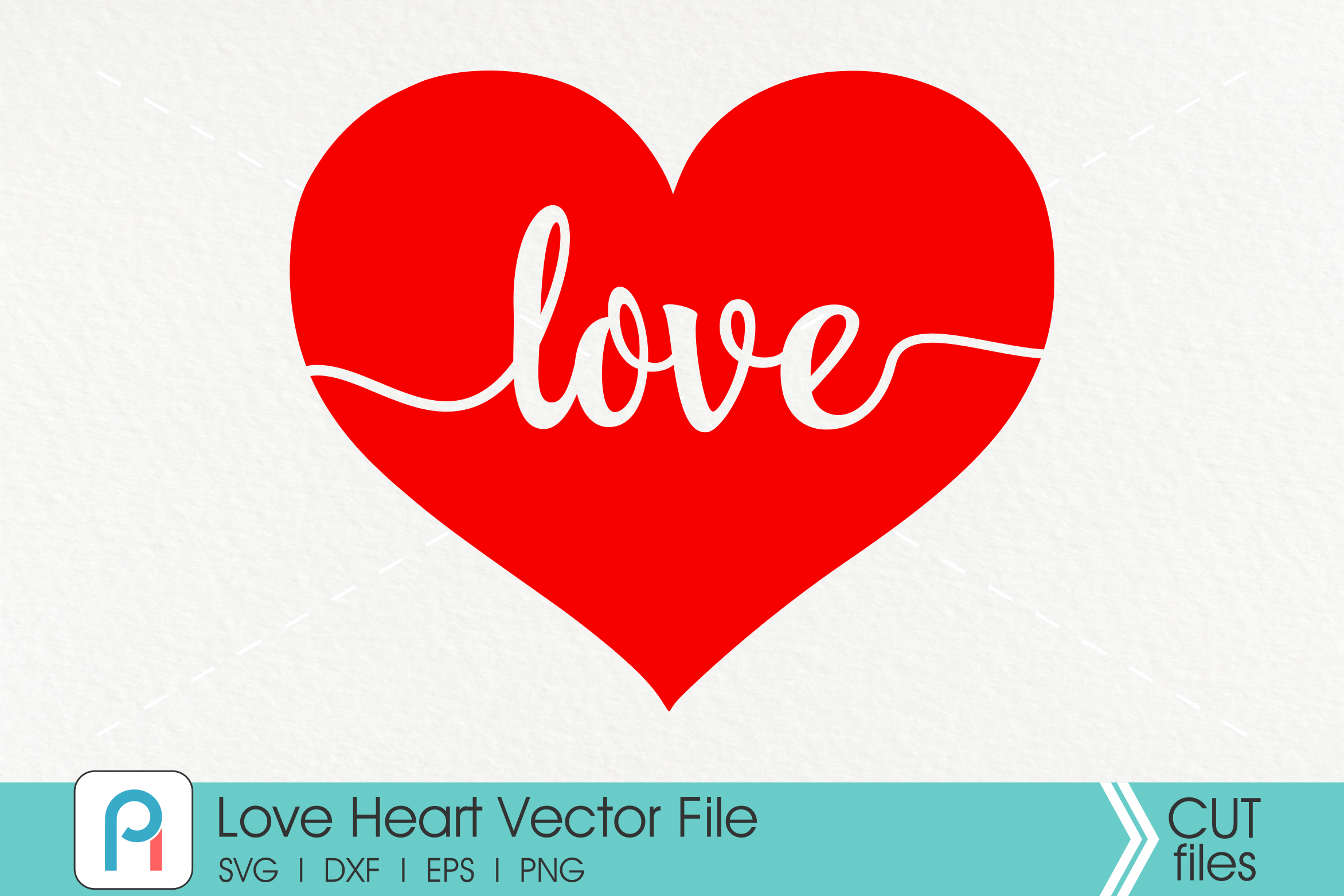 Love Svg, Heart Svg, Love Heart Svg, Valentine's Day Svg example image 1