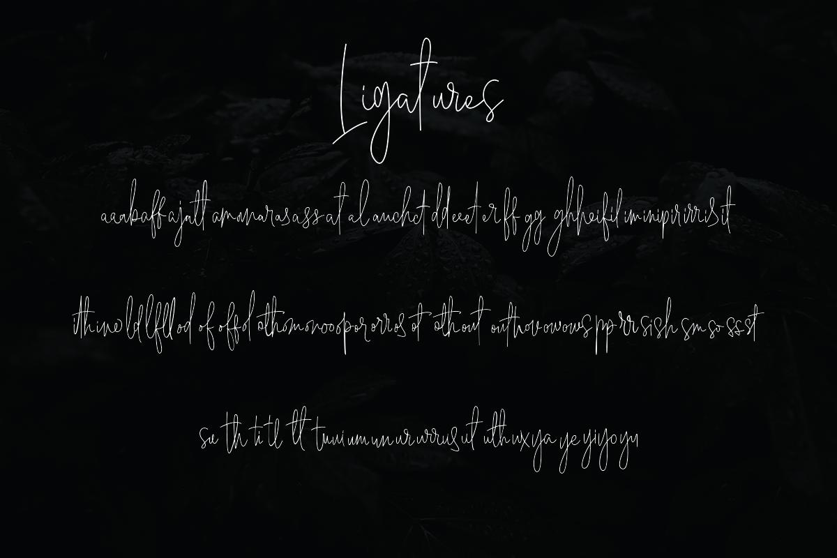 Geraldine | Hand Written Font example image 9
