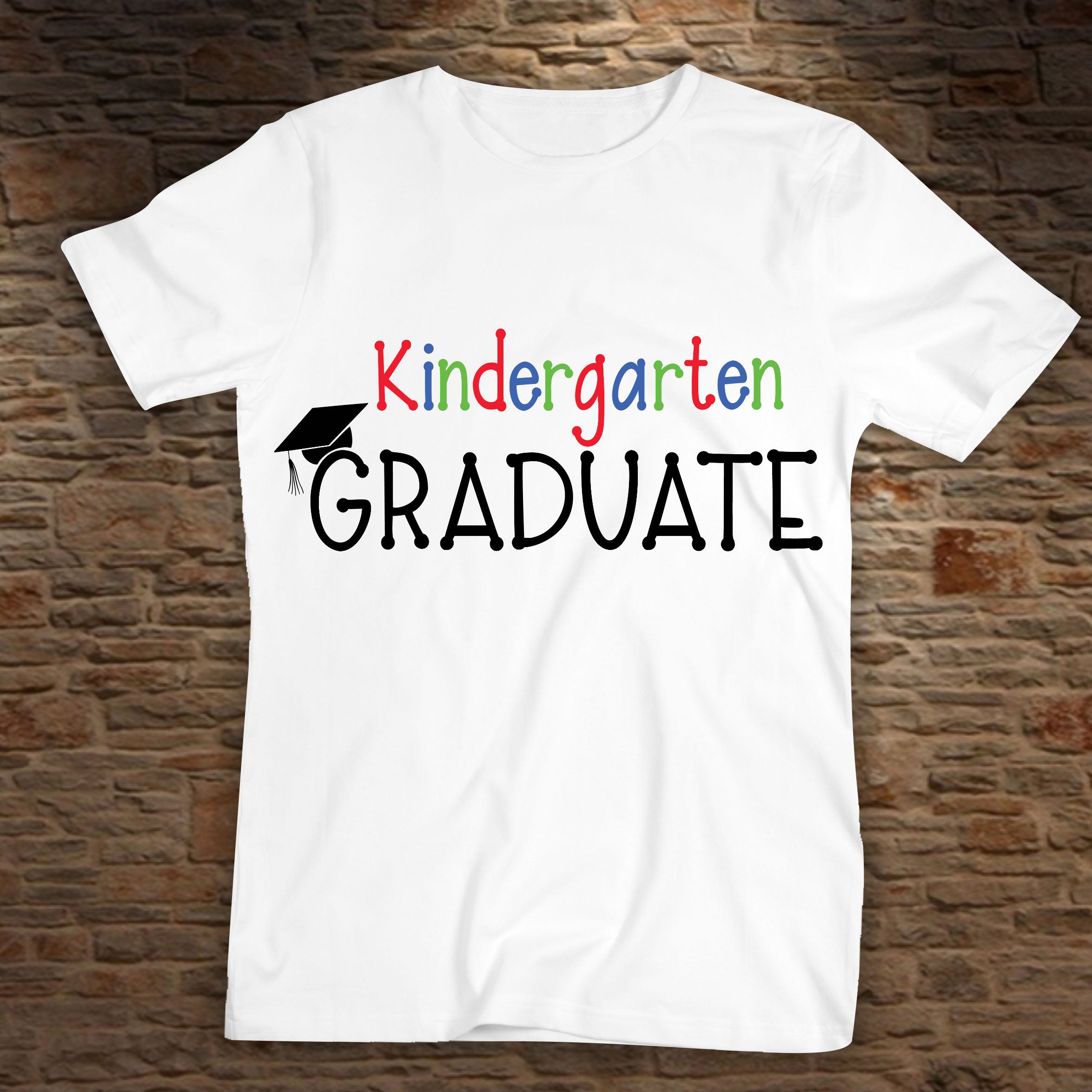 Kindergarten Graduate SVG - Graduation SVG example image 2