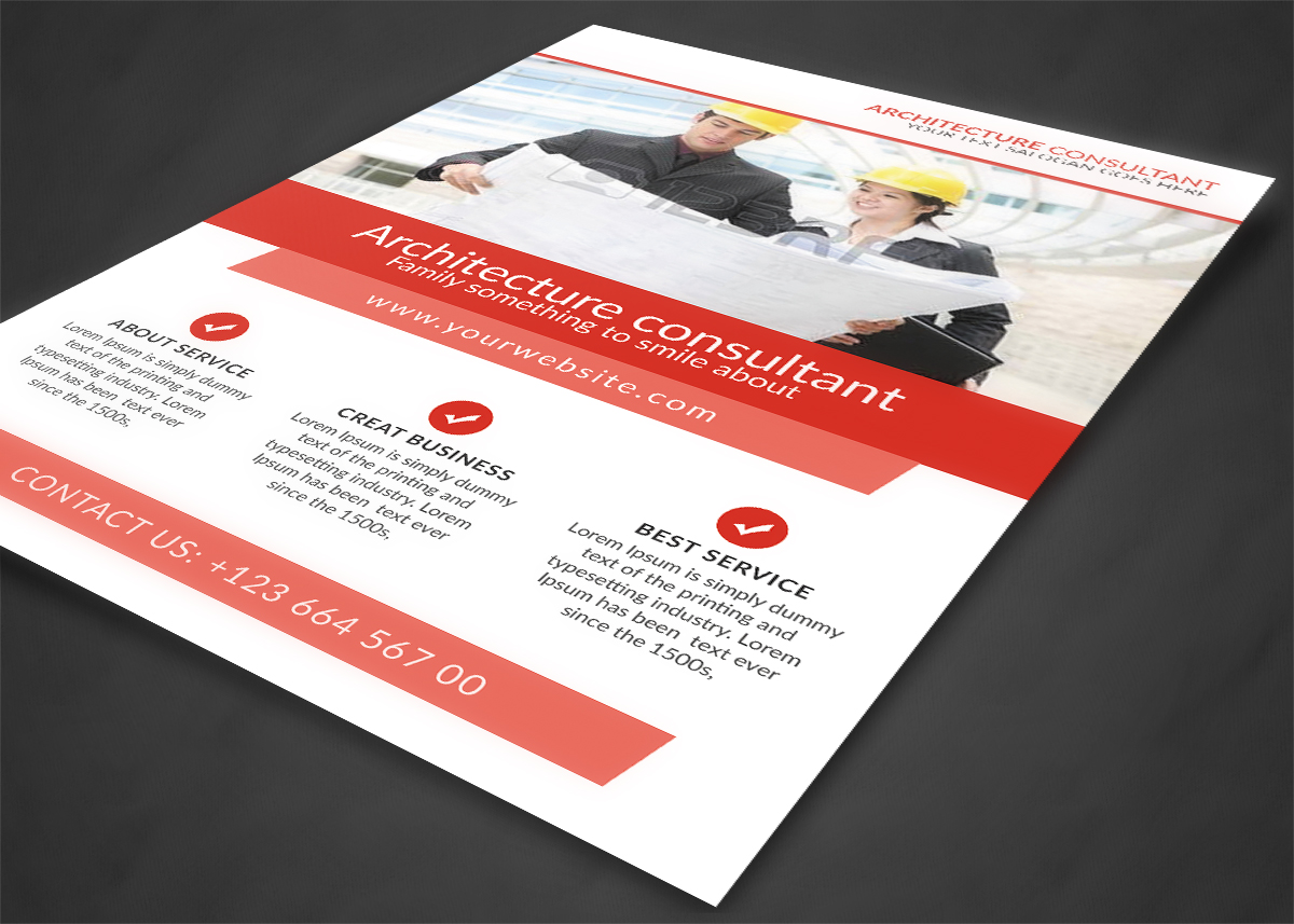 Architecture Consultant Flyer example image 3