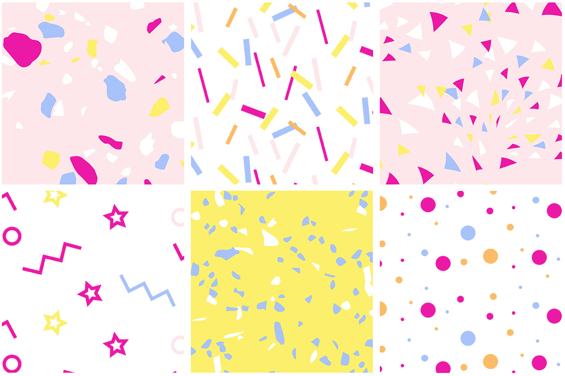 Party Patterns set of 12 example image 5