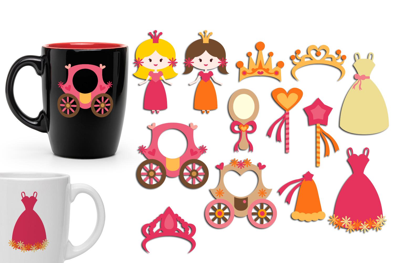 Just For Girls Clip Art Illustrations Huge Bundle example image 4