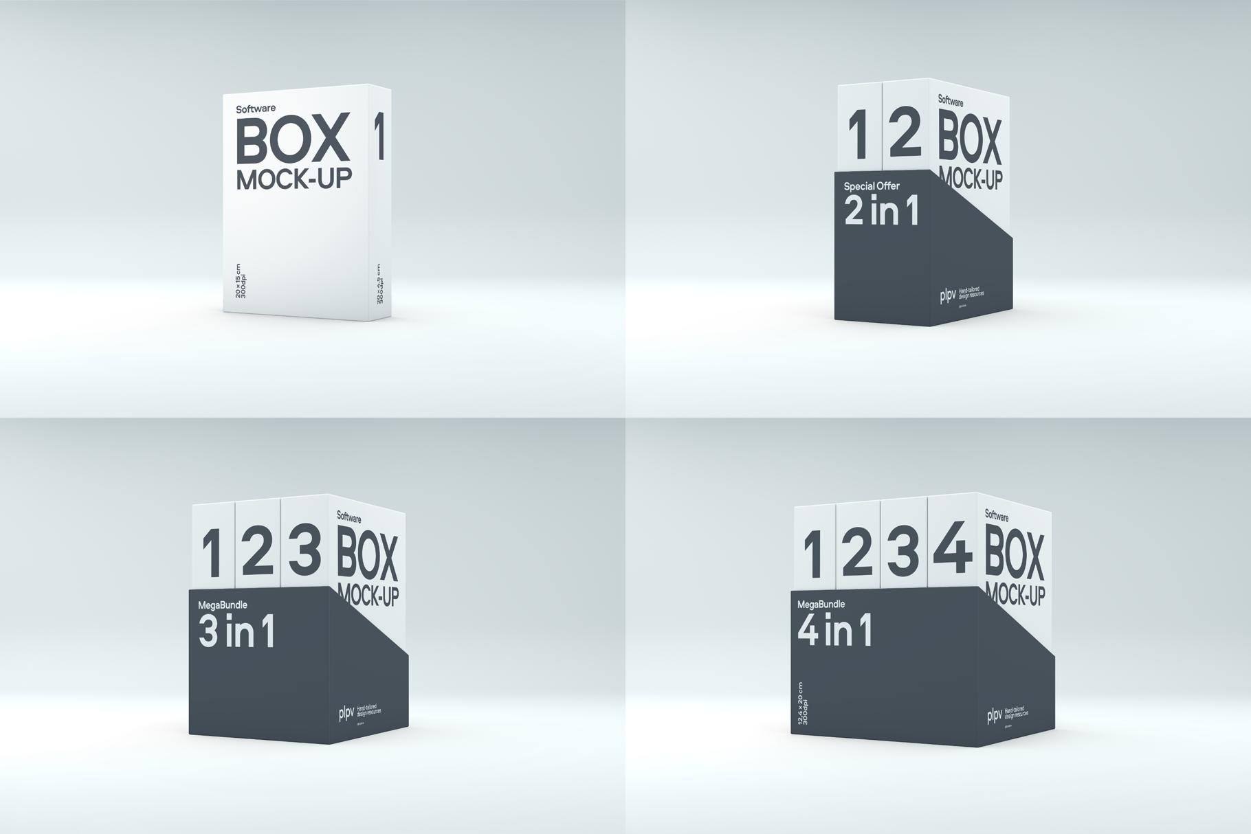 Software Box Mockup example image 5