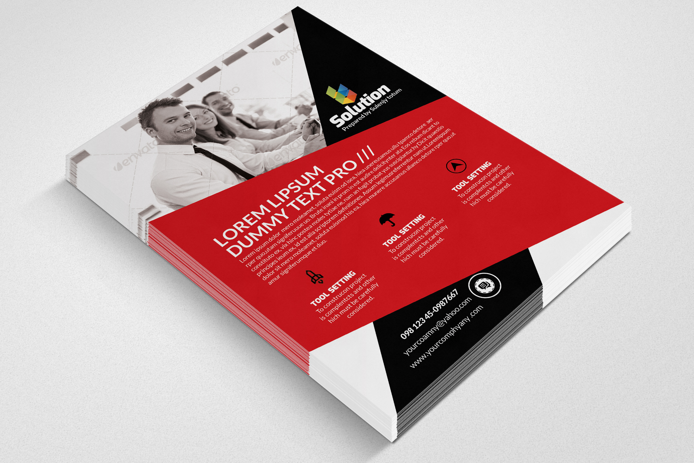 Business Finance Provider Firm Flyer example image 3