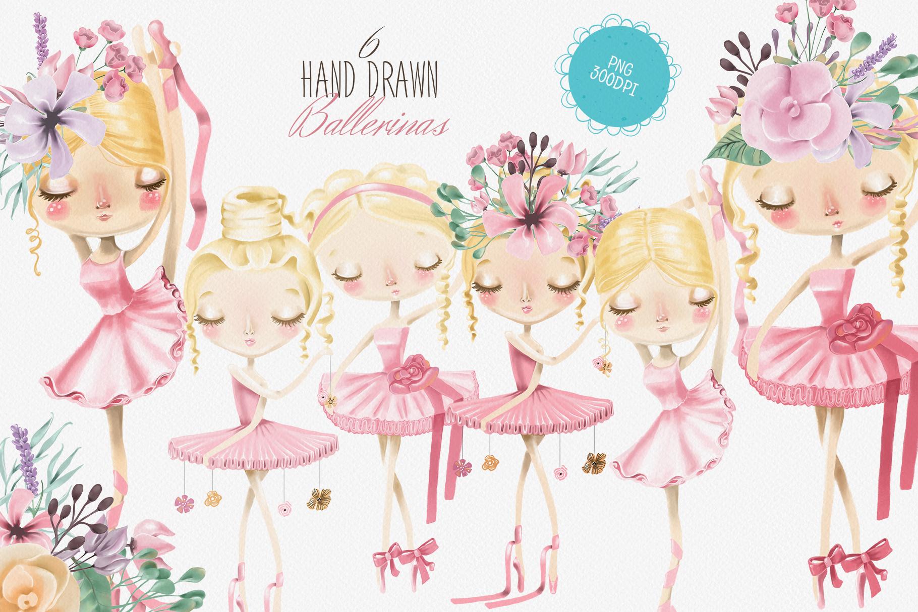 Ballet Girls example image 2