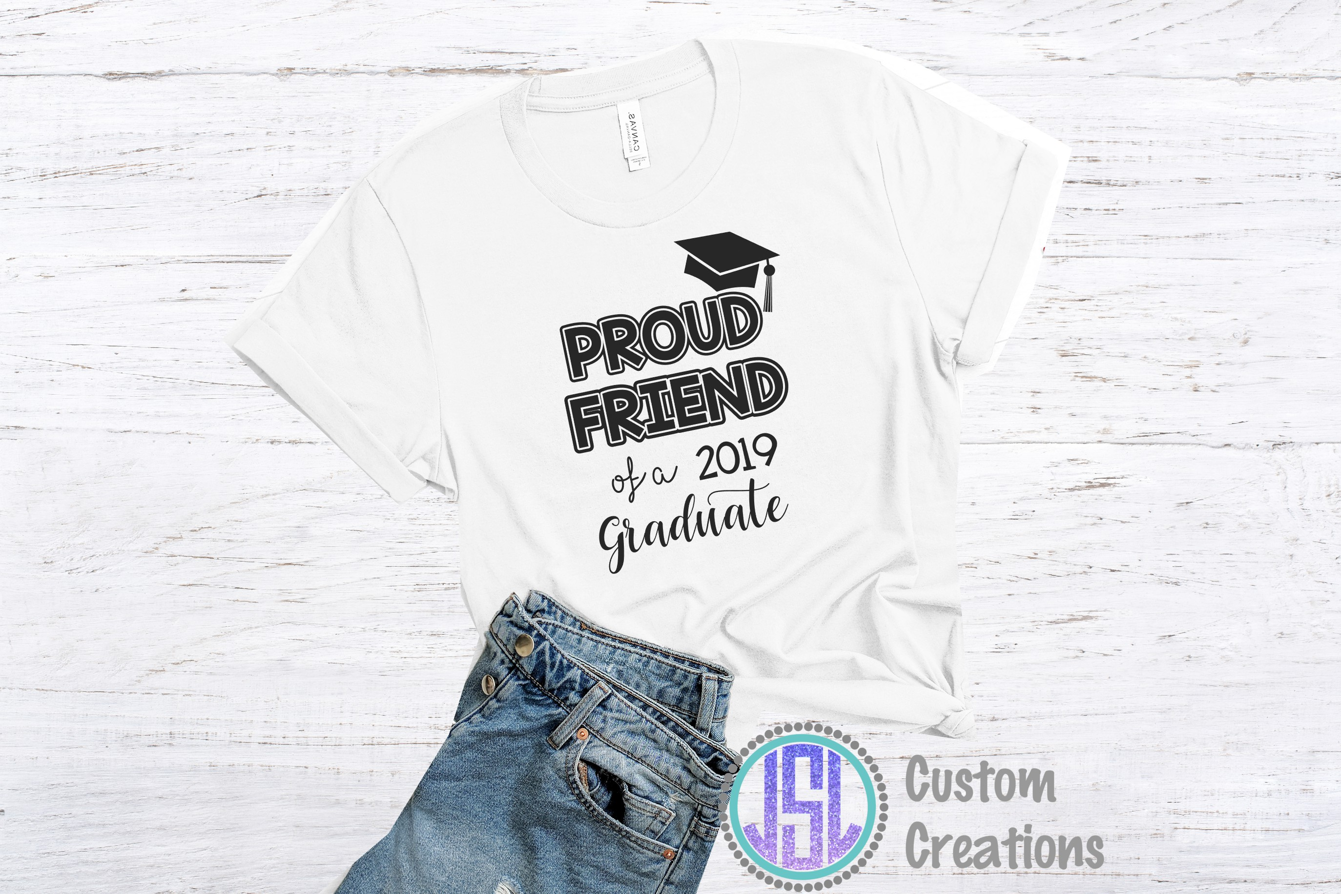 Proud of a 2019 Graduate Bundle Set of 12 | SVG DXF EPS PNG example image 6