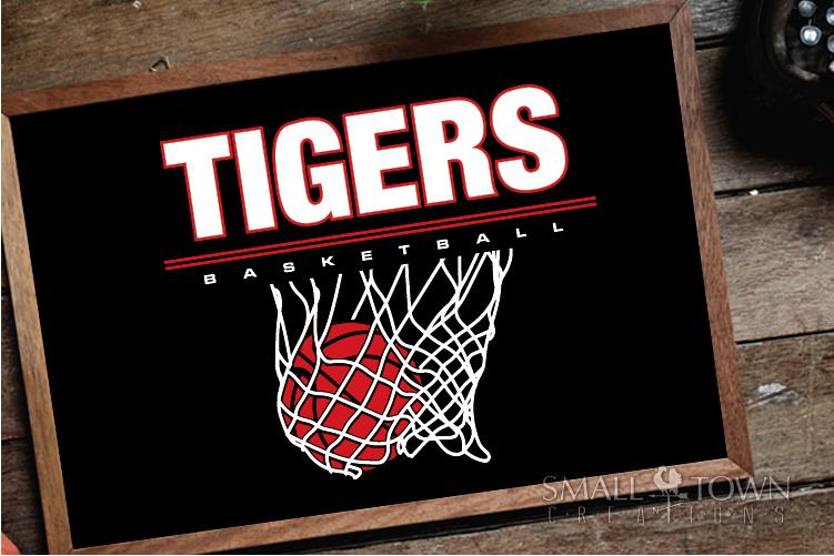 Tigers basketball, tiger mascot, team, PRINT, CUT, DESIGN example image 29