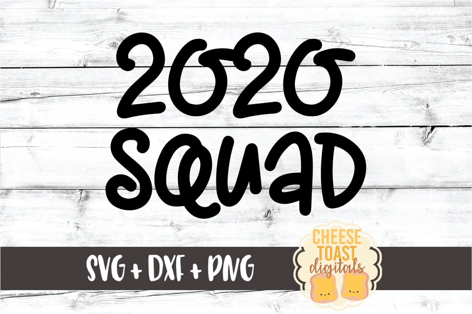 2020 Squad - New Year SVG PNG DXF Cut Files example image 2