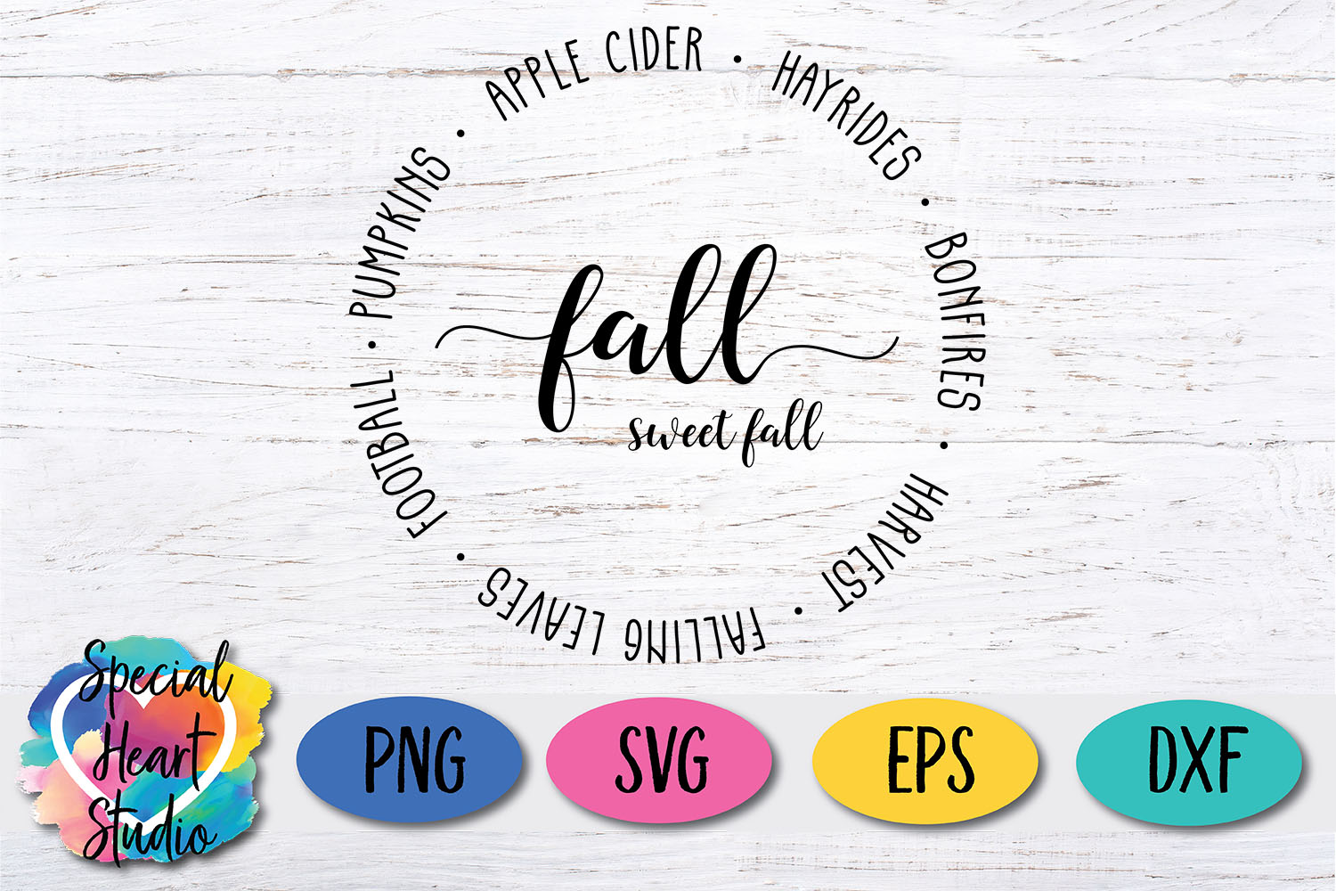 Fall Sweet Fall SVG - Home decor, sign, pillow cut file example image 2