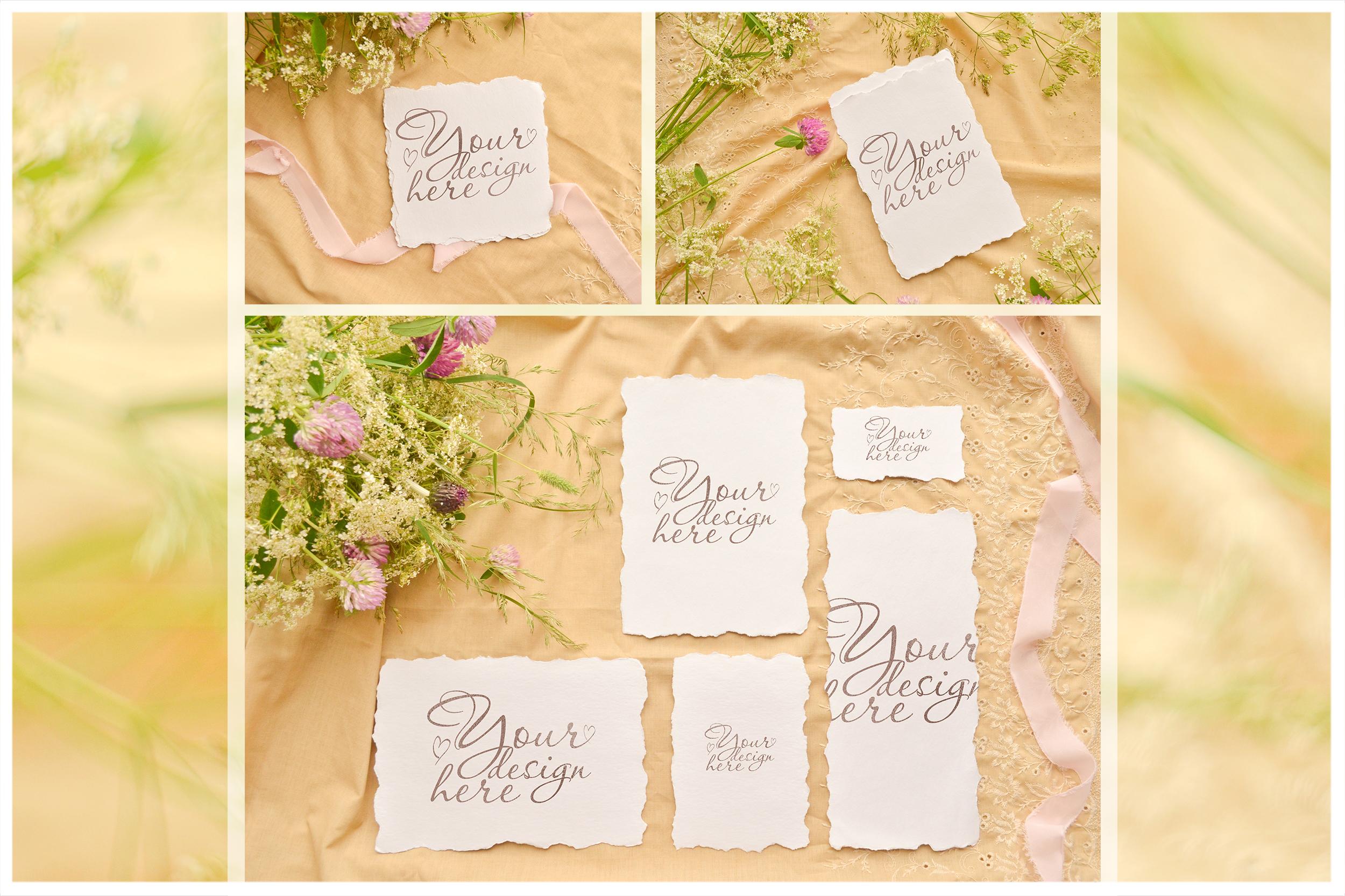 Honey Meadow. Wedding mockups & stock photo bundle example image 3