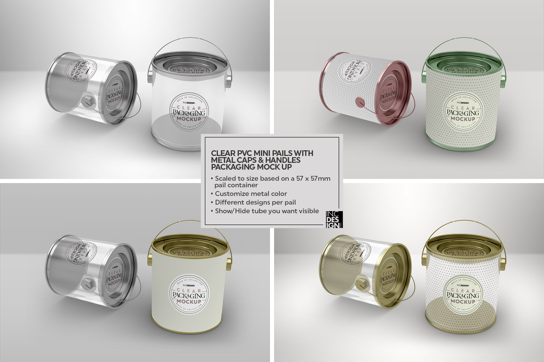 VOL.2 Clear Packaging Mockup Collection example image 7