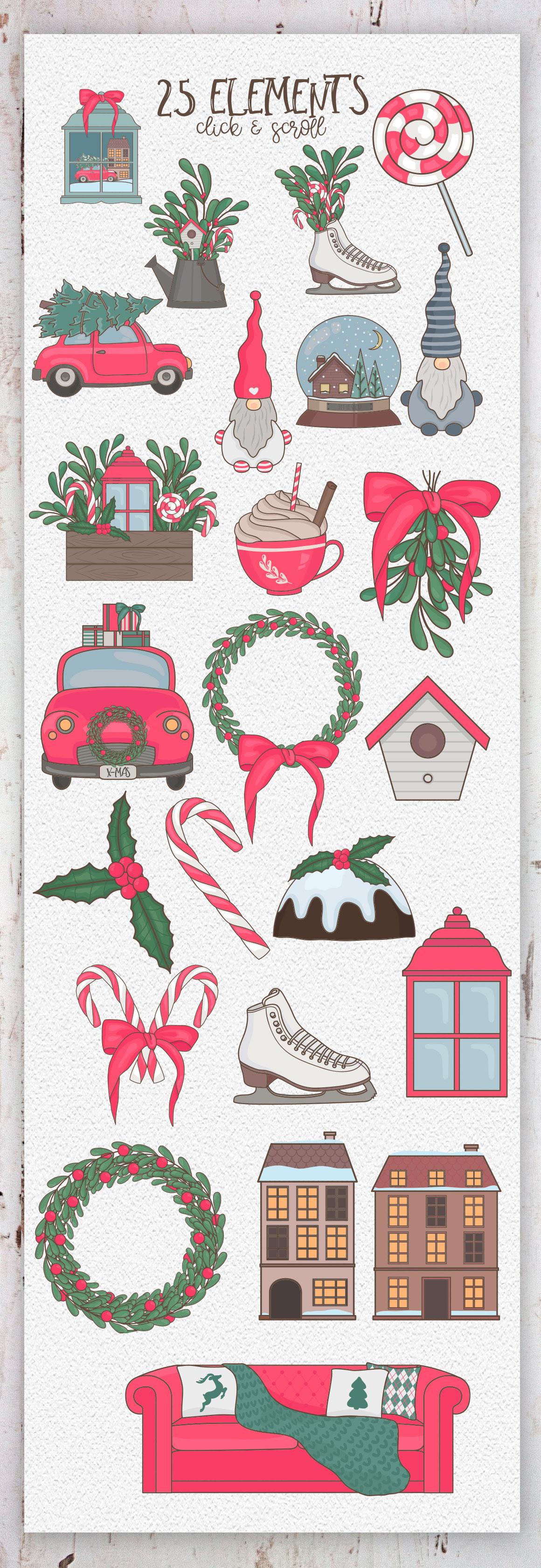 Cozy Winter. Big collection example image 10